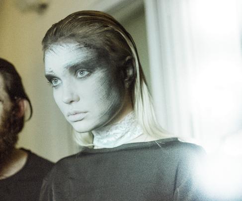 Foto: Kai Knoerzer • Haute Cueture Fashion Show Demange • Hair & Make-Up Artist: Nadia Krist