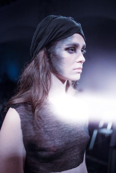 Foto: Kai Knoerzer • Haute Cueture Fashion Show Demange • Make-Up & Hair: Nadia Krist