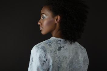 Client: Hannah Wilke • Photo: Miriam Mara • Model: Amara @ S Models Model Management • Make-Up & Hair: Nadia Krist
