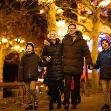 Kunde: Christmas Garden in der Wilhelma Stuttgart