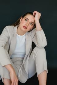 Foto: Sonja Netzlaf • Model: Hannah • Hair & Make-Up Artist: Nadia Krist